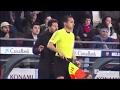 Diego Simeone explotó contra el linier reclamando un empujón de Luis Enrique al cuarto árbitro