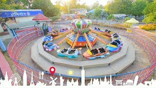 essel world super tele combat ride | 7 wonders of mumbai amusement park | maharastra tourism