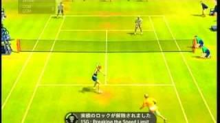 Virtua Tennis 2009 CO-OP Doubles play part.1