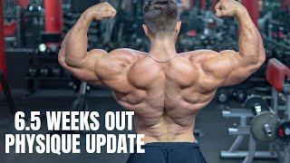 RAW CHEST WORKOUT | POSING 6.5 WEEKS OUT