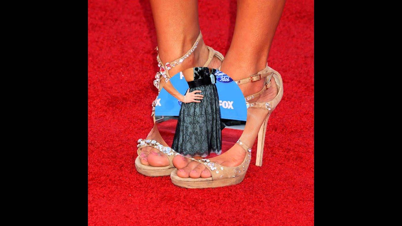 YouTube Carrie Underwood Feet