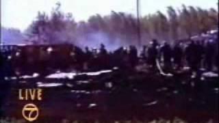 WLS-TV coverage of flight 191 crash (5/25/1979) part 1