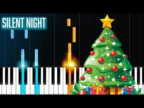 Silent Night Piano Tutorial - Chords - How To Play - Cover