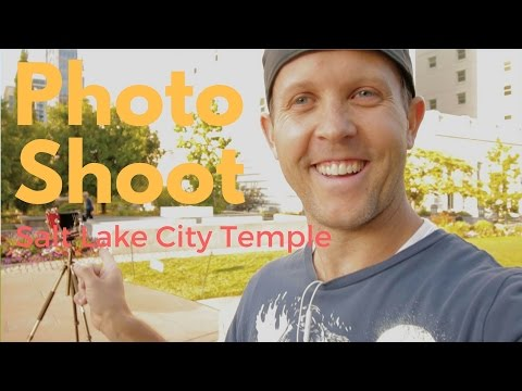 Photographing the Salt Lake City Temple