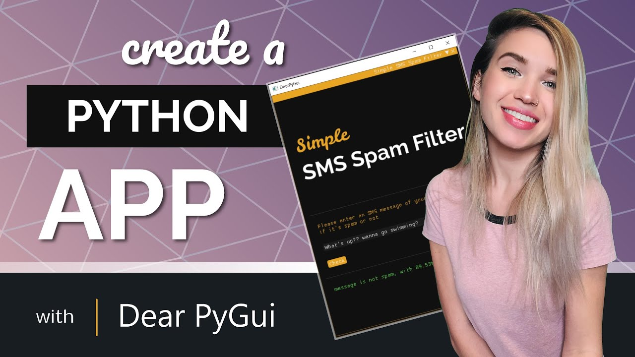 Create a Python App with Dear PyGui - Graphic User Interface