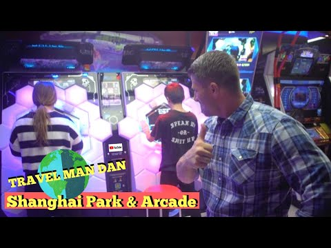 EPIC VIDEO ARCADE SHANGHAI CHINA! EP#34-THE TRAVEL MAN DAN SHOW