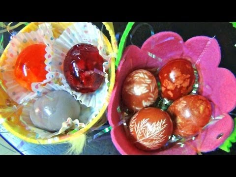 ∘ Easter Jello Eggs and Eggs with prints ∘ soft spoken ASMR