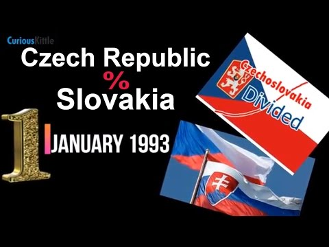 Czechoslovakia Divided - Czech Republic and Slovakia | 1st January 1993 #WhatHappenedonThisDay