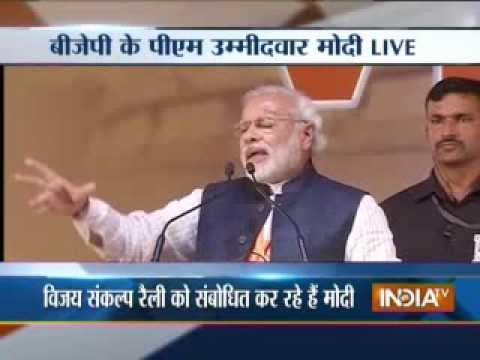 LIVE: Narendra Modi blasts Congress for playing vote bank politics at Goa rally-1
