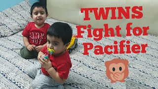 Cute Twin babies Fighting over pacifier and dummy | Funny vines compilation.