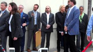 ELO's Jeff Lynne gets star on Hollywood Walk of Fame Part 1 of 3