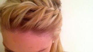 Summer Hair Tutorial: Quick Braided Bangs