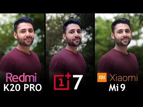 Redmi K20 Pro vs OnePlus 7 vs Xiaomi Mi 9 Camera Test Comparison!