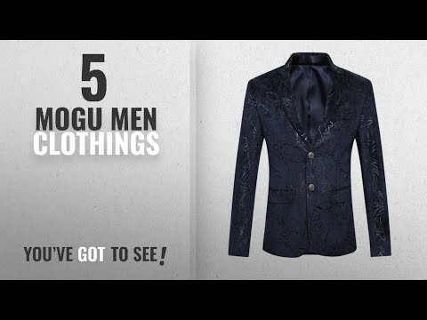 5ffbbcd09407 Top 10 Mogu Men Clothings [ Winter 2018 ]: MOGU Mens Slim Fit Sports Coats  and Blazers US Size 44 - YouTube