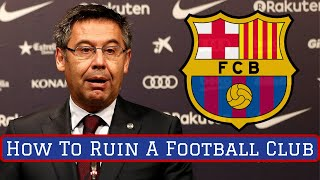 Fans are currently gathering outside of the camp nou in barcelona to protest against club president josep bartomeu, and voice their support for ...