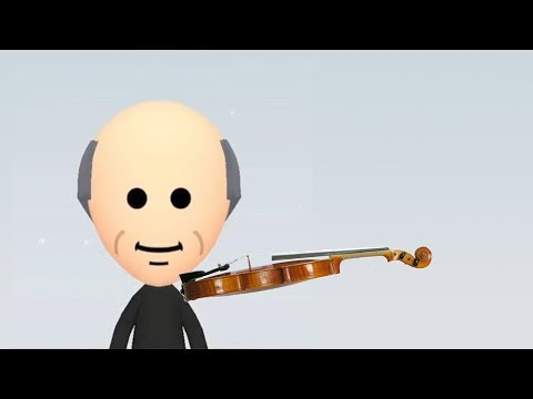 mii channel music but played on the violin