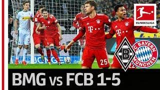 Borussia Mönchengladbach vs. FC Bayern München I 1-5 I Lewandowski's Record Show