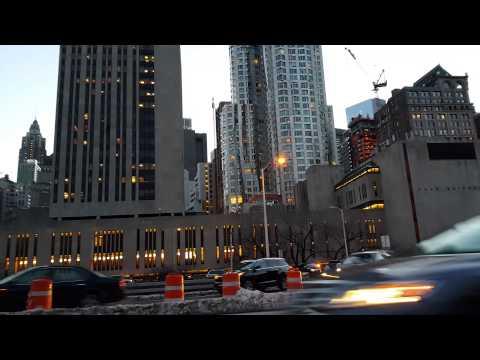 Entering Brooklyn Bridge from Manhattan Side