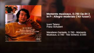 Moments musicaux, D.780 Op.94 3 in F-: Allegro moderato (