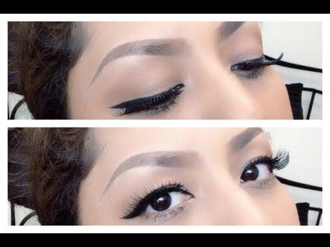 tips-memakai-eyeliner/-bulu-mata-palsu-/-update-cara-membentuk-alis-(-indonesia-subtitle-)