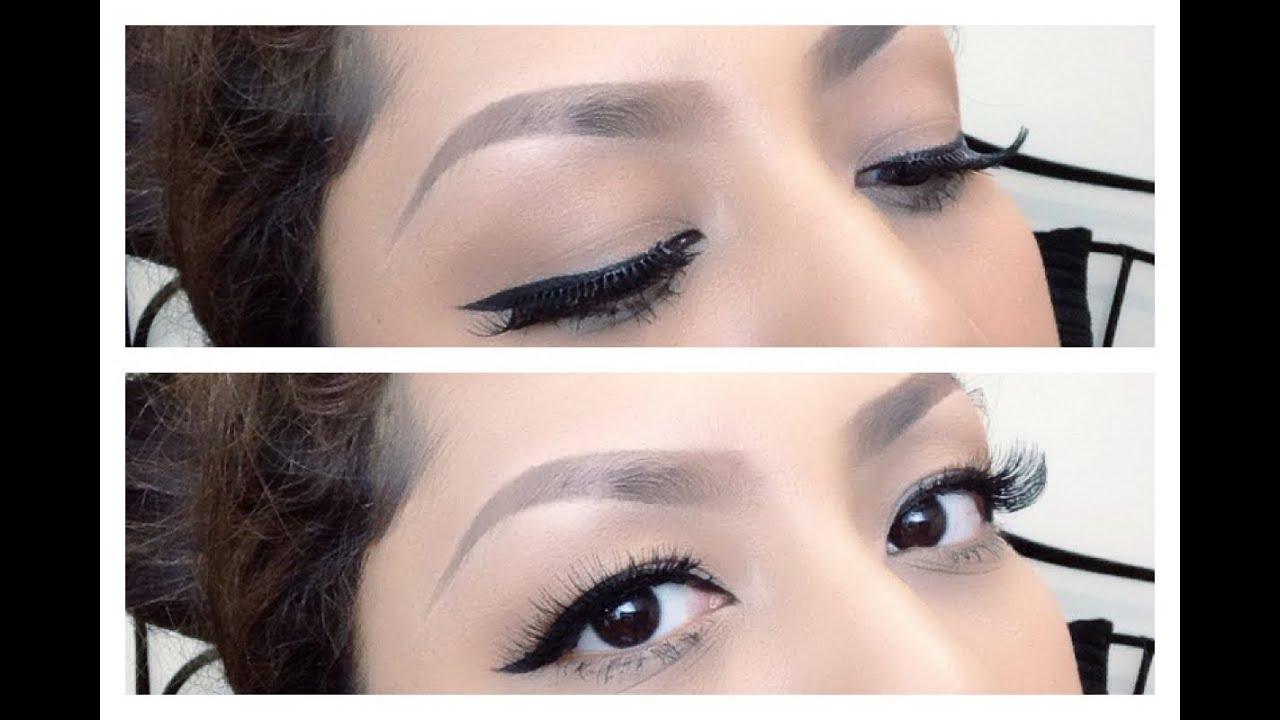 Tips Memakai Eyeliner Bulu Mata Palsu Update Cara Membentuk Alis Viva Eye Liner Pencil Pensil Original 13gr Indonesia Subtitle Youtube
