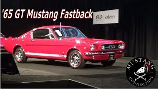 1965 Mustang GT Fastback sold for 45k at RM Sotheby's Santa Monica 2017 Mustang Connection