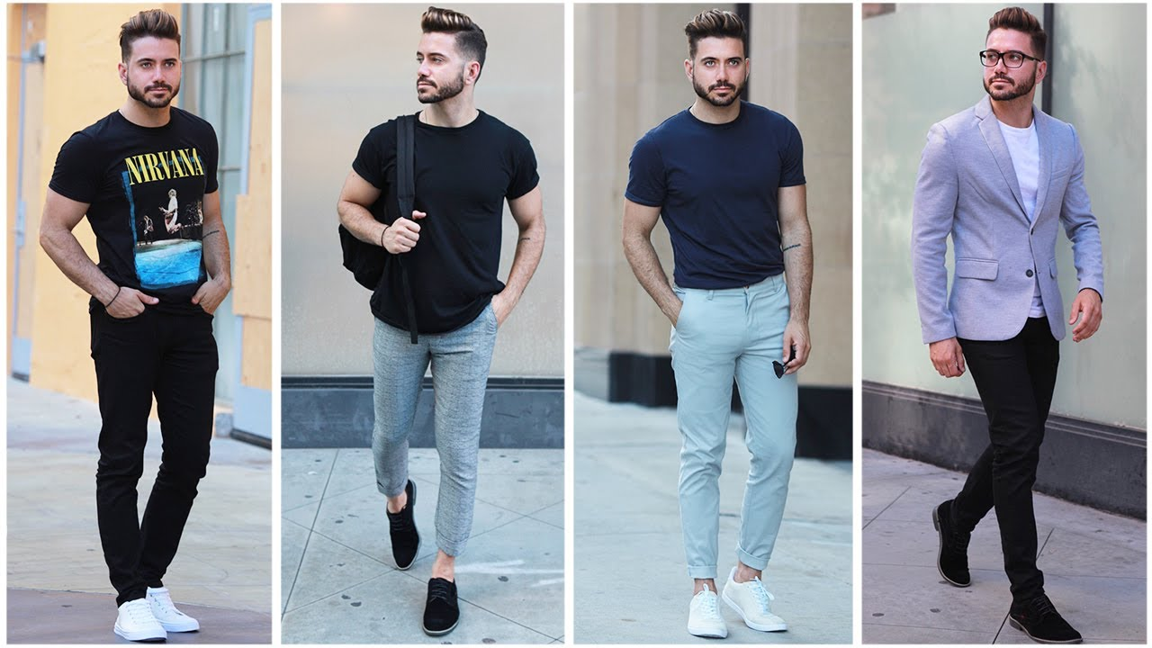 4 Easy And Affordable Summer Outfits Mens Summer Lookbook 2017 Mens Fashion
