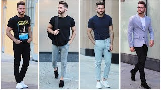 4 EASY AND AFFORDABLE SUMMER OUTFITS | Men