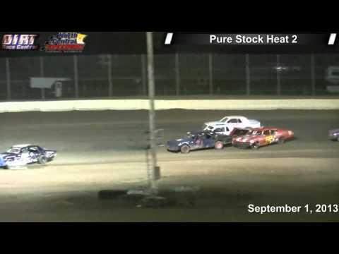 North Central Speedway 9 1 13 Pure Stock Races