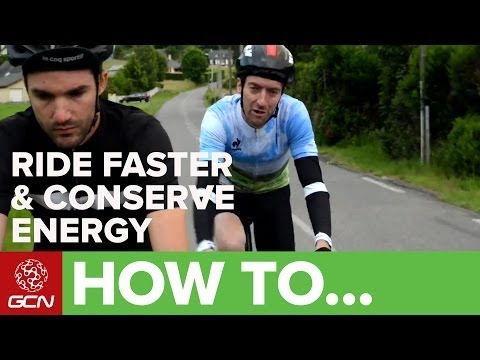 How To Ride Faster Preserve Energy At Letape Du Tour