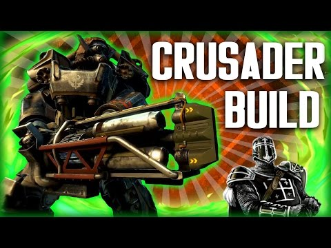 Fallout 4 Builds - The Crusader - Space Marine Build