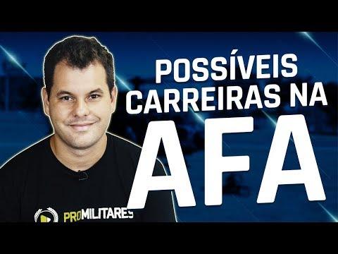 POSSÍVEIS FORMAÇÕES NA ACADEMIA DA FORÇA AÉREA (AFA)
