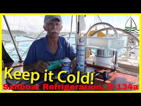 Sailboat Refrigeration Tips- (Keep food cold in the galley!) Patrick Childress Sailing Tips #11