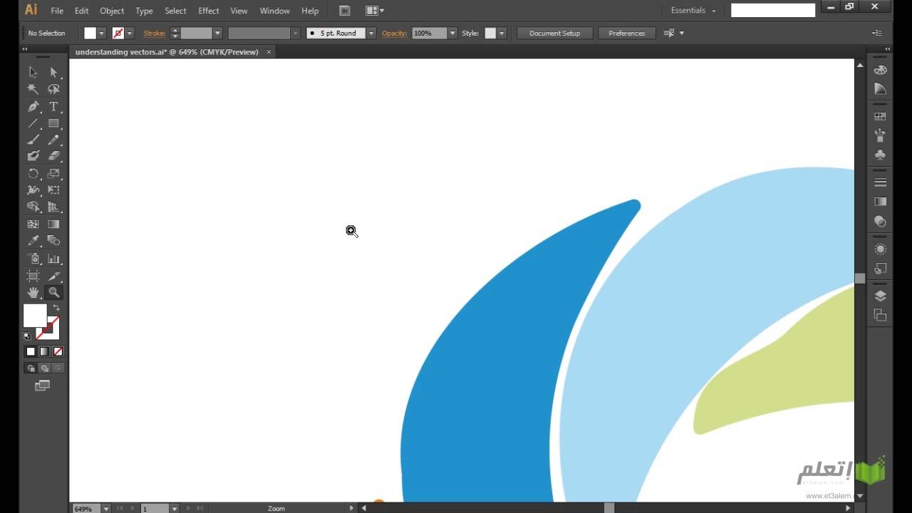 et3alem.com | Illustrator CS6 .. Understanding Vector Graphics