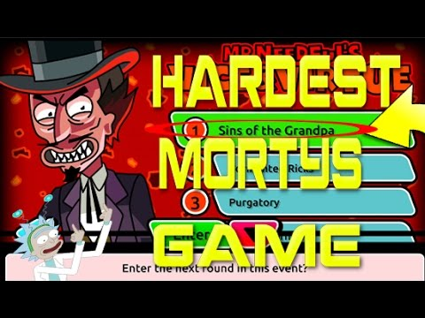 Pocket Mortys - Hardest Mortys Game! I'm Raging! Ask Your Questions For QnA Next Episode!