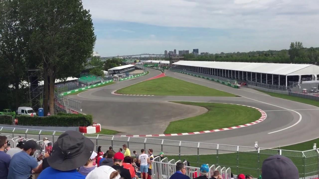 Circuit Gilles Villeneuve 2017 Canadian Grand Prix Seating