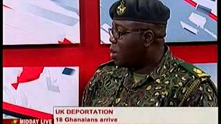 Midday Live - Discuss UK Deportation - 26/2/2014