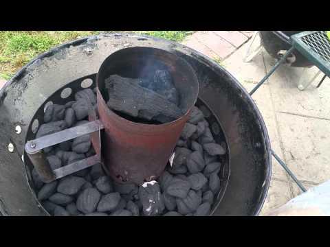 Minion Method:WSM Weber Smokey Mountain by Smoking BBQ Bob