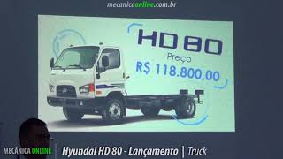 Hyundai HD 80 a evolu o do HD 78 смотреть