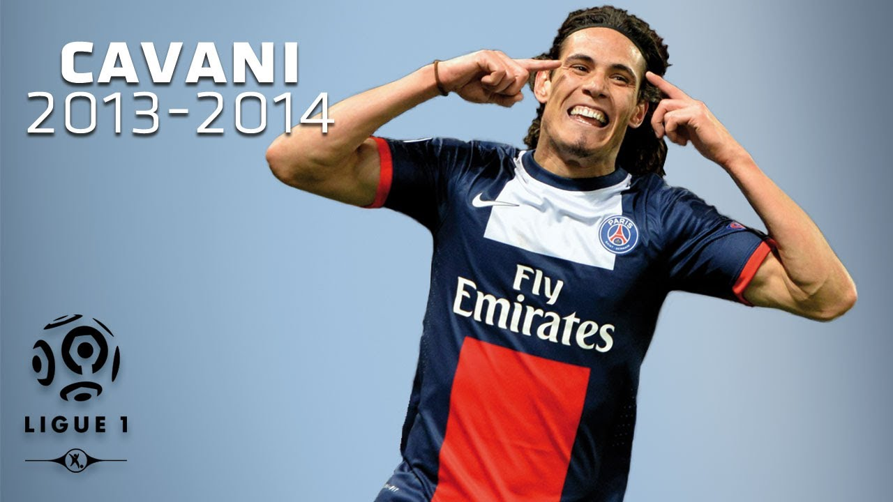 Edinson Cavani All Goals In 2013 2014 1st Half Psg