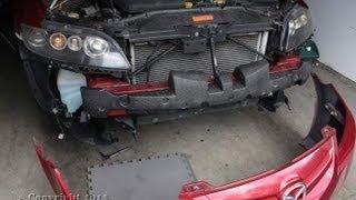 Mazda 6 Front Bumper Removal