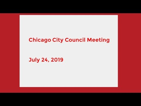 Chicago City Council Meeting