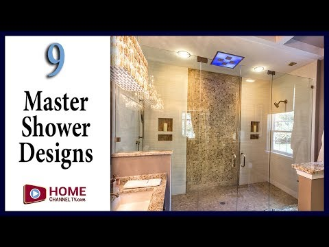 9 Master Bath Shower Designs You May Like
