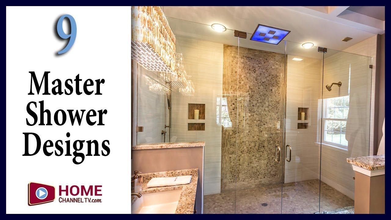 9 Master Bath Showers You May Like - YouTube