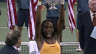 US Open 50 for 50: Venus Williams, 2000 and 2001 Women's Singles Champion