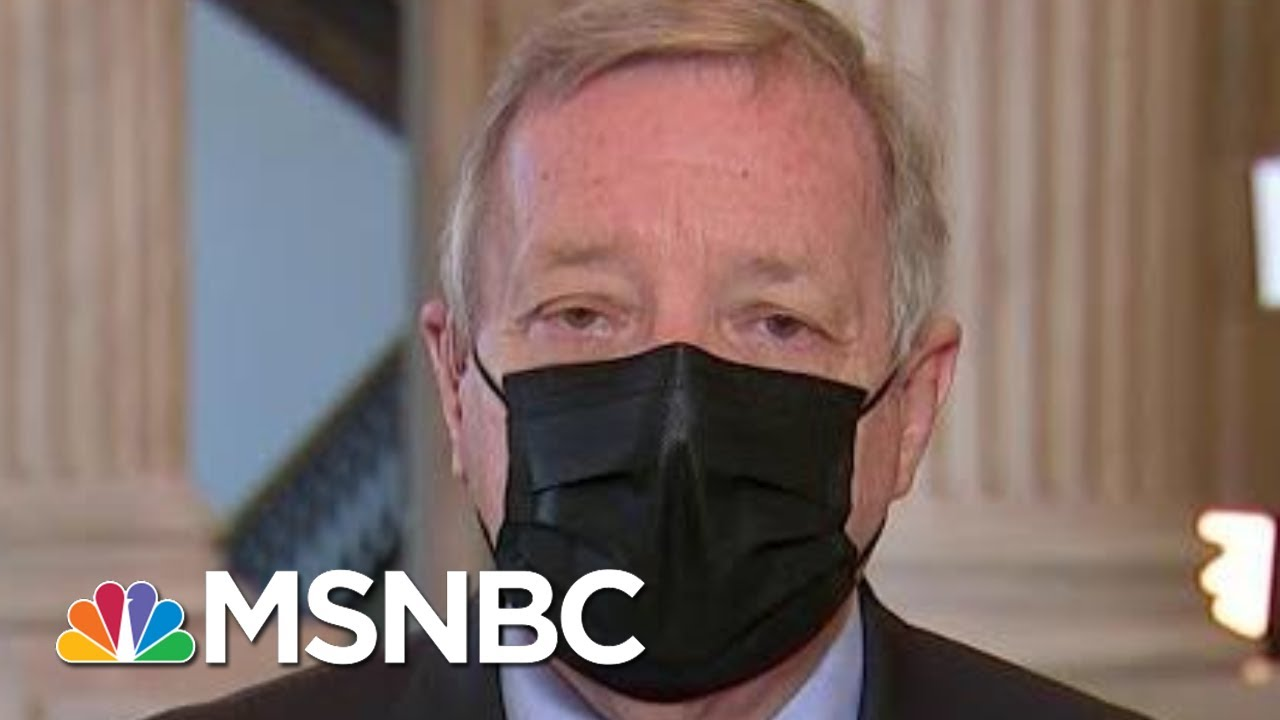 Sen. Durbin: Those Who Raided Capitol Must Be Held Accountable | Morning Joe | MSNBC