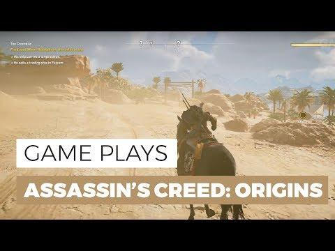 В сети появились 20 минут геймплея Assassin's Creed Origins на Xbox One X