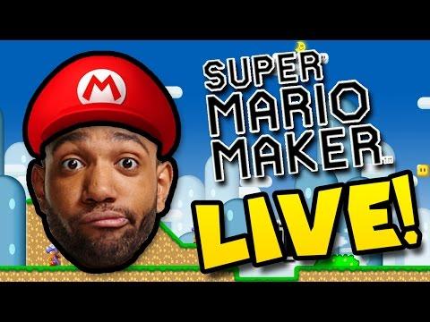 J.D.'S SUPER MARIO BALL DROPS  LIVE! - [SUPER MARIO MAKER]