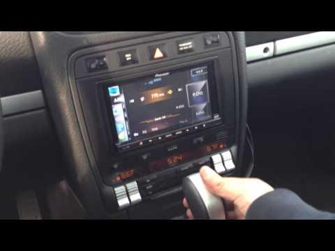 Porsche Cayenne with Pioneer AVIC-Z140BT