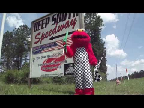 Promo for Race Track Elmo appearing at Deep South Speedway  NOTE:  (MAYBE IN THE FUTURE)